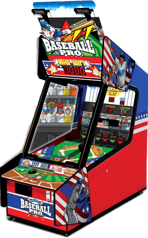 BASEBALL PRO BY ANDAMIRO - 2017 BOSA GOLD MEDAL WINNER - REDEMPTION ARCADE GAMES - BEST OF SHOW ARCADE MACHINE AWARDS