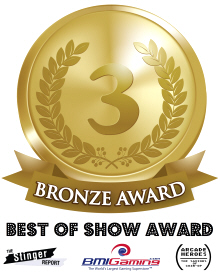 Bronze Medal Award - BOSA / Best Of Show Arcade Machine Awards Logo - 2017