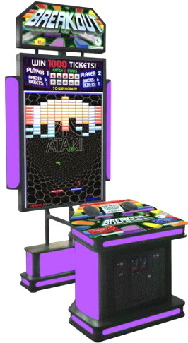 BREAKOUT ARCADE BY COASTAL AMUSEMENTS - 2017 BOSA BRONZE MEDAL WINNER - VIDEMPTION ARCADE GAMES - BEST OF SHOW ARCADE MACHINE AWARDS