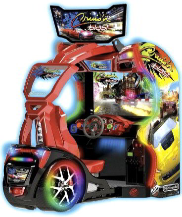 CRUIS'N BLAST ARCADE BY RAW THRILLS - 2017 BOSA BRONZE MEDAL WINNER - VIDEO ARCADE GAMES - BEST OF SHOW ARCADE AWARDS