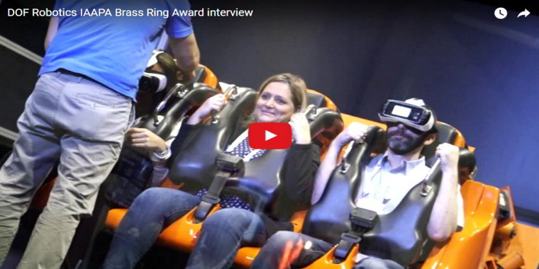 Hurricane VR 360 By DOF Robotik - Virtual Reality Motion Simulator / VR Motion Ride - BOSA Awards 2017 Video Clip