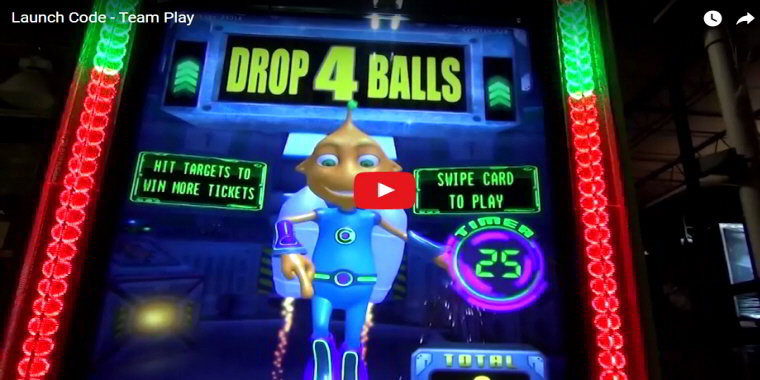 Launch Code Arcade By Team Play - Video Redemption Arcade Game - BOSA Awards 2017 Video Clip