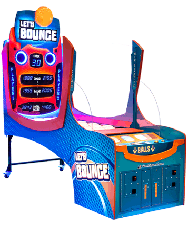 LET'S BOUNCE ARCADE BY LAI GAMES - 2017 BOSA SILVER MEDAL WINNER - REDEMPTION ARCADE GAMES - BEST OF SHOW ARCADE MACHINE AWARDS