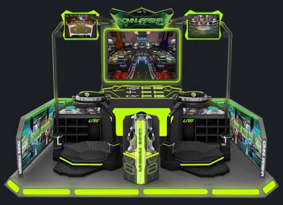 ONMI ARENA VR BY VIRTUIX OMNI / UNIS - 2017 BOSA SILVER MEDAL AWARD WINNER - VR / VIRTUAL REALITY ARCADE GAMES - BEST OF SHOW ARCADE AWARDS
