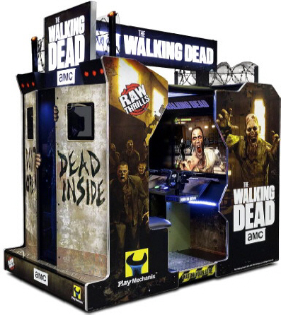 THE WALKING DEAD ARCADE BY RAW THRILLS - 2017 BOSA GOLD MEDAL WINNER - VIDEO ARCADE GAMES - BEST OF SHOW ARCADE AWARDS