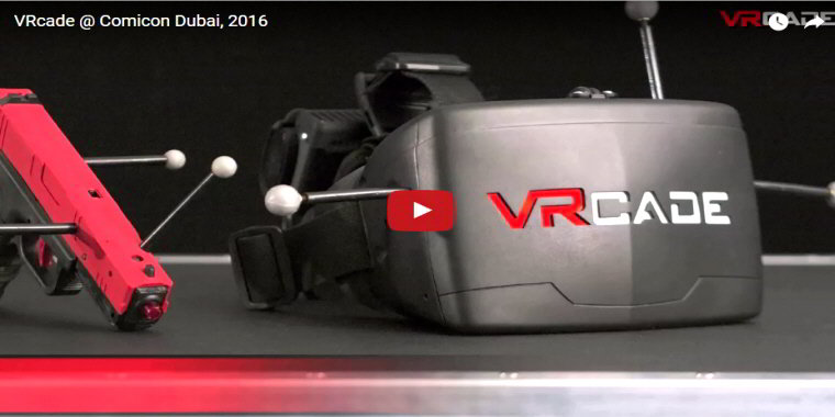 VRcade VR Gaming System By VRStudios and UNIS - Virtual Reality Game  / VR Arcade Game - BOSA Awards 2017 Video Clip
