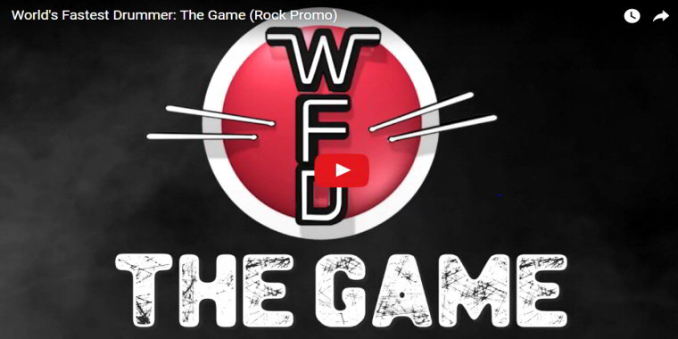 The World's Fastest Drummer Arcade - Video Arcade Game From WFD and Unit-E - BOSA Awards 2017 Video Clip