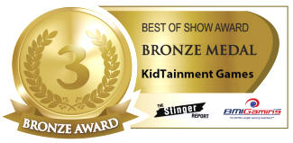2016 BOSA AWARDS - BRONZE MEDAL - KIDTAINMENT ARCADE GAMES / CHILDRENS ENTERTAINMENT RIDES