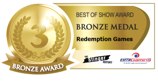 2015 BOSA AWARDS BRONZE MEDAL  |  REDEMPTION ARCADE GAMES