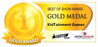 2016 BOSA AWARDS - GOLD MEDAL - KIDTAINMENT ARCADE GAMES / CHILDRENS ENTERTAINMENT RIDES