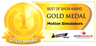 2016 BOSA AWARDS - GOLD MEDAL -  MOTION SIMULATORS / MOTION THEATERS / MOTION RIDES
