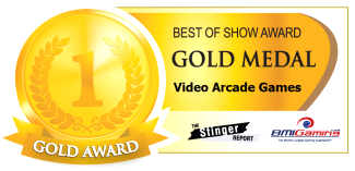 2016 BOSA AWARDS  -  GOLD MEDAL -  VIDEO ARCADE GAMES