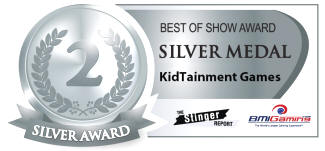 2016 BOSA AWARDS - SILVER MEDAL - KIDTAINMENT ARCADE GAMES / CHILDRENS ENTERTAINMENT RIDES