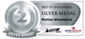2015 BOSA AWARDS SILVER MEDAL  |  MOTION SIMULATORS / MOTION THEATER RIDES