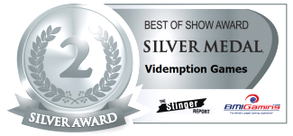 2015 BOSA AWARDS SILVER MEDAL  |  VIDEMPTION ARCADE GAMES