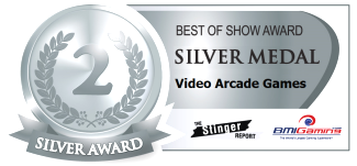 2015 BOSA AWARDS SILVER MEDAL  |  VIDEO ARCADE GAMES