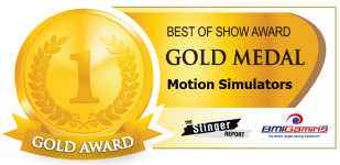 2015 BOSA AWARDS GOLD MEDAL  |  MOTION SIMULATORS / MOTION THEATER RIDES