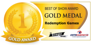 2015 BOSA AWARDS GOLD MEDAL  |  REDEMPTION ARCADE GAMES