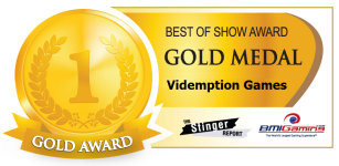 2015 BOSA AWARDS GOLD MEDAL  |  VIDEMPTION ARCADE GAMES