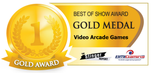 2015 BOSA AWARDS GOLD MEDAL  |  VIDEO ARCADE GAMES